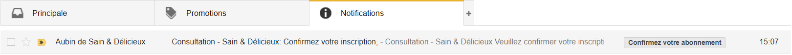 Consultation - Confirmation