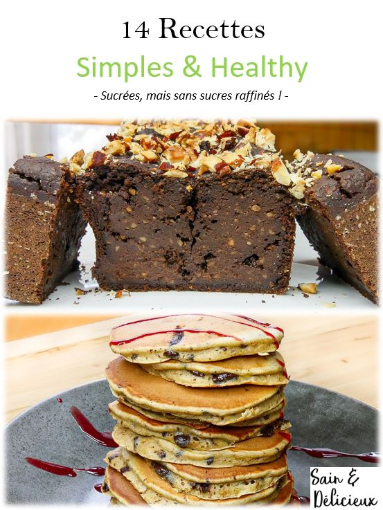 14 Recettes - Simples & Healthy - Cover